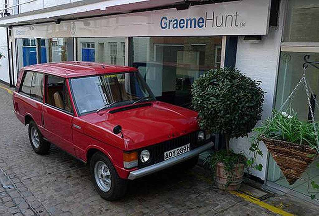 1969 Range Rover Front