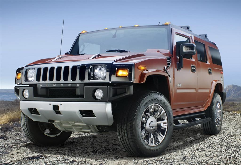 Hummer H2 Black Wheels. Known as Black Chrome Edition,