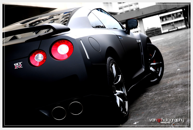 nissan gtr r35 black. The Nissan GTR R35 is already