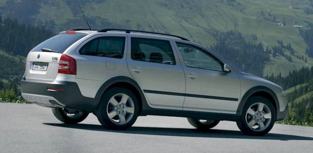 The Octavia Scout 4X4 has ground clearance of 180 mm so that it can be
