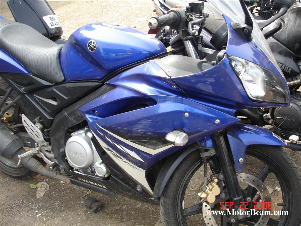 Modified R15 Yamaha