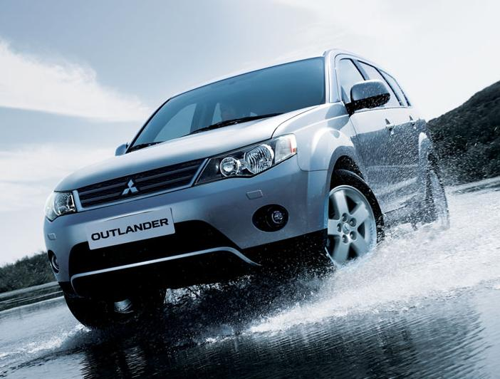 Mitsubishi Launches The Outlander