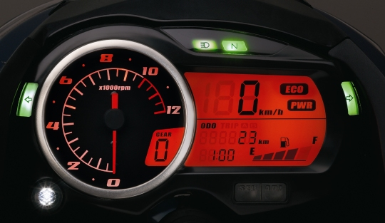 Is it true? New Sporty Look model of GS-150 is coming to Pakistan? - suzuki gs150r instrument cluster