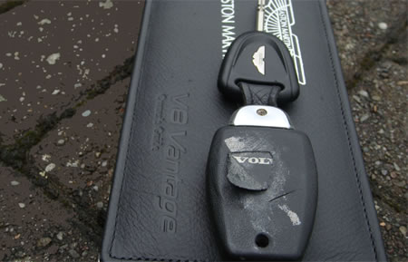 Aston Martin on Aston Martin Supercar Uses Volvo Key Fob   Motorbeam     Indian Car