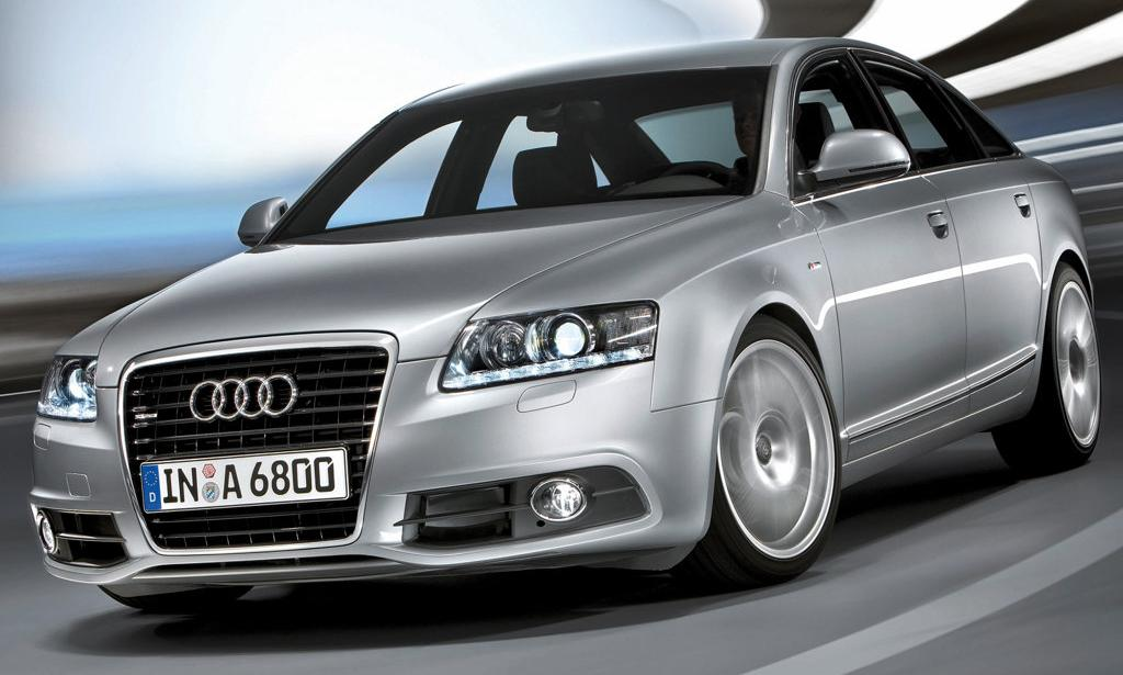 The new design of the Audi A6 emphasizes the cars strong personality;