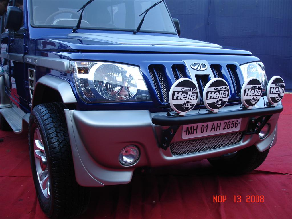 Mahindra recently launched the Bolero Stinger . Checkout the pictures ...