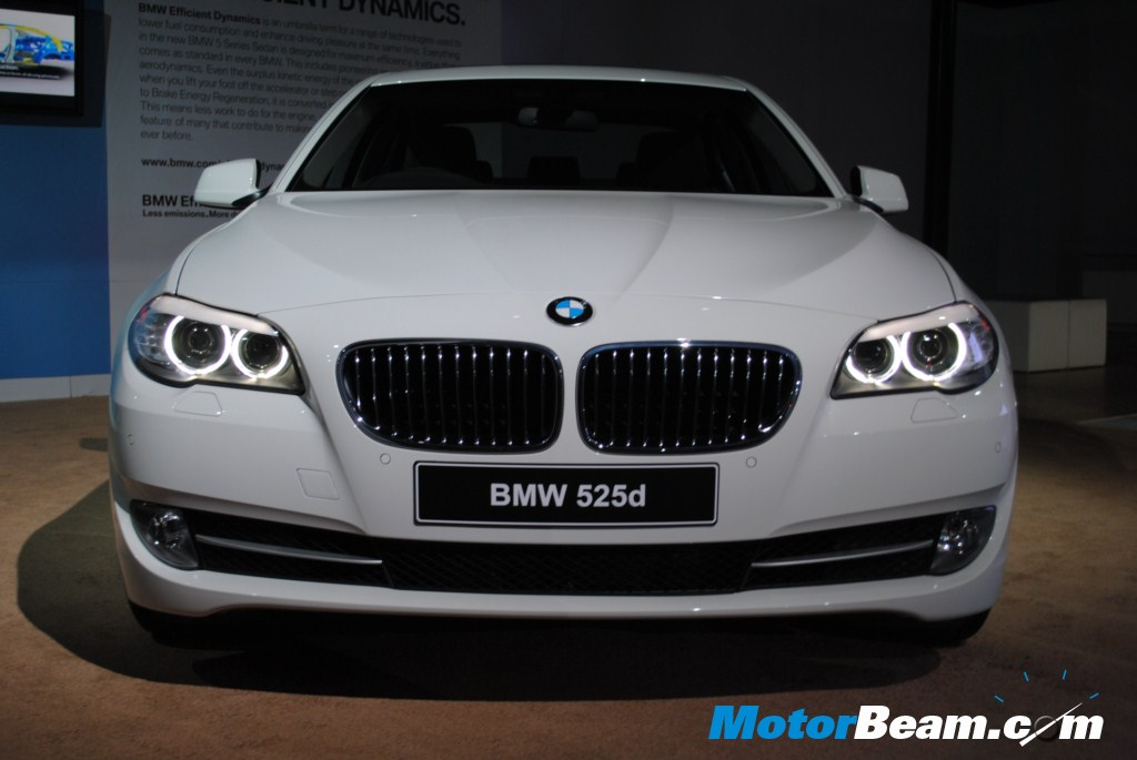 the new bmw 5 series was launched in april and bmw had to hurry up ...