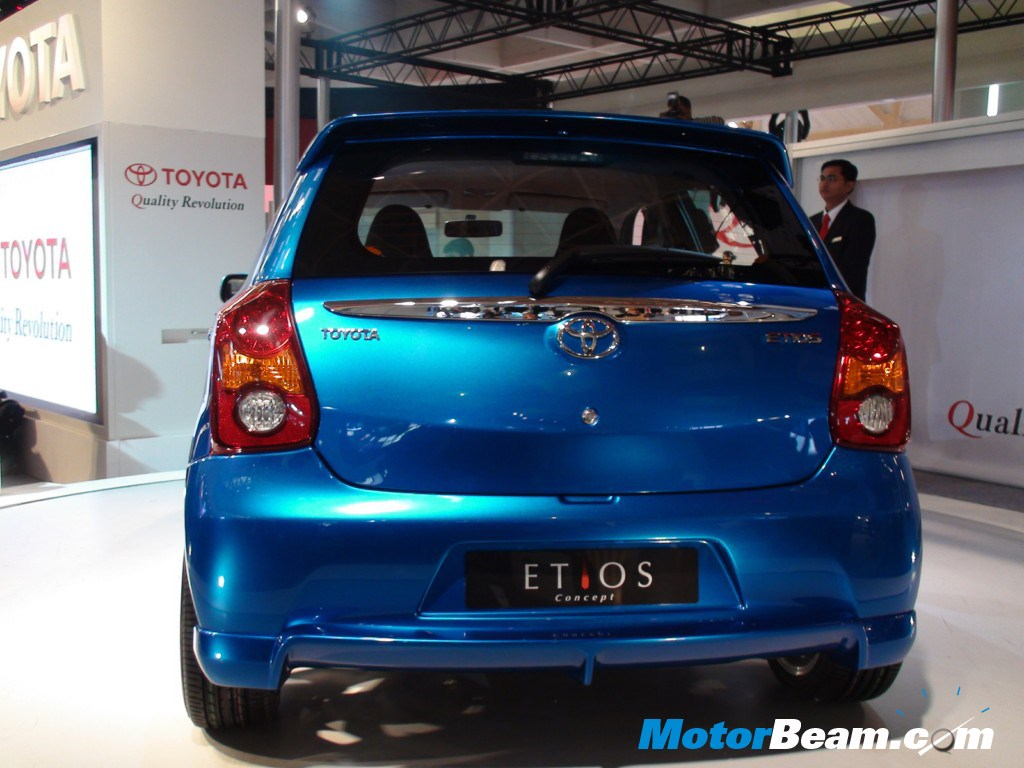 Toyota Etios At The 2010 Auto Expo Motorbeam Indian Car Bike News ...