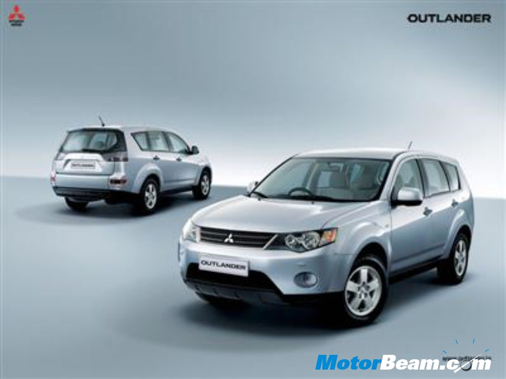 2010 Mitsubishi Outlander Launched In India   MotorBeam - Indian Car ...