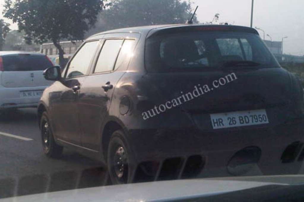 2011_Maruti_Swift_Rear