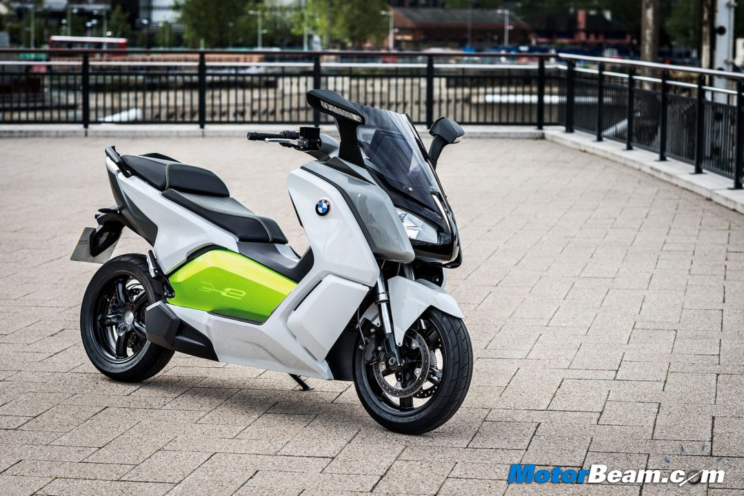 Bmw Unveils C Evolution Electric Scooter Motor Junkies