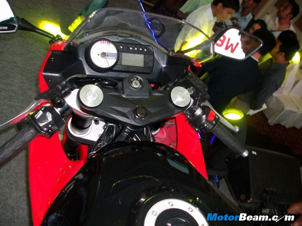 2012 Hyosung GT250R Instrument Cluster