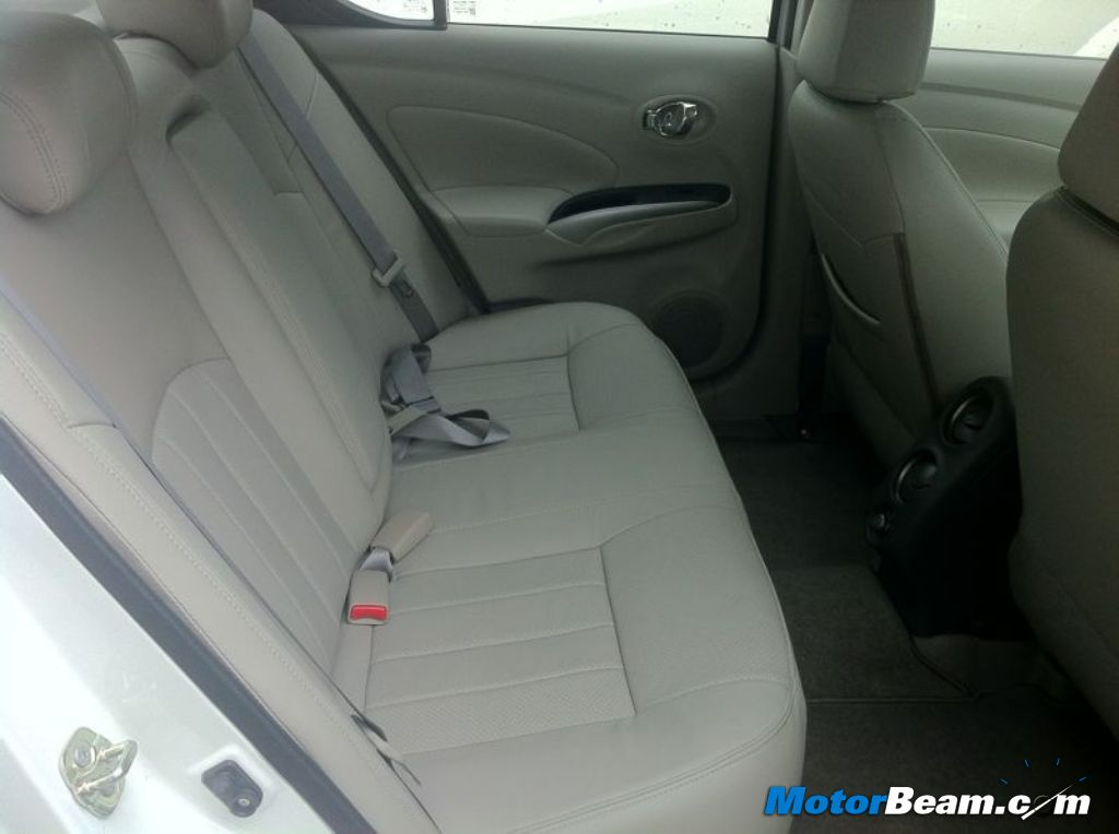 2012 Renault Scala Rear Seat
