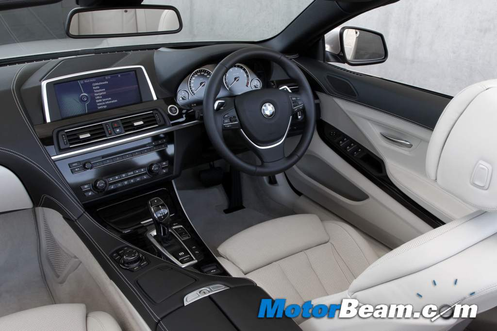 2012 Bmw 6 Series Interior. The new BMW 6-Series