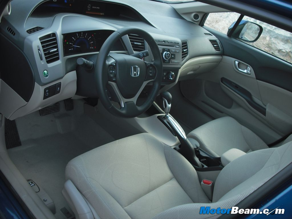 2012 Civic Interiors