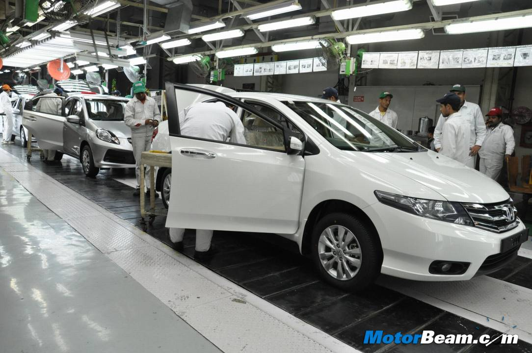 2012 Honda City On Assembly Line