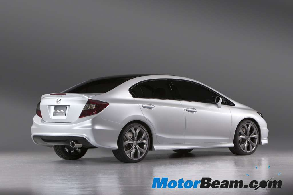 2012 civic. 2012 Honda Civic India Honda