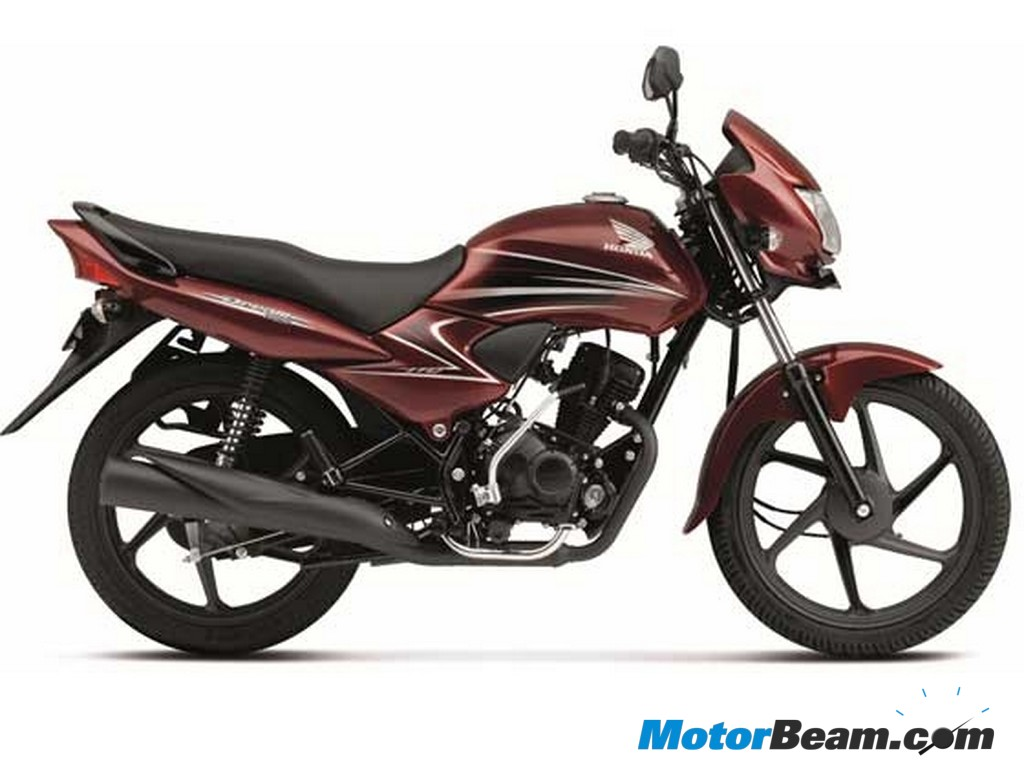 2012 Honda Dream Yuga side