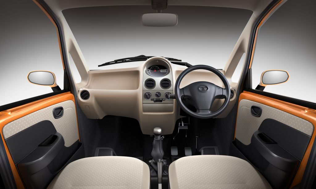 2012 Tata Nano Dashboard