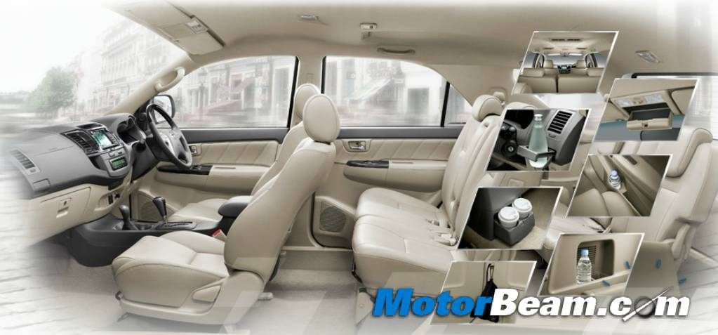 2012 Toyota Fortuner Facelift Launched In Thailand