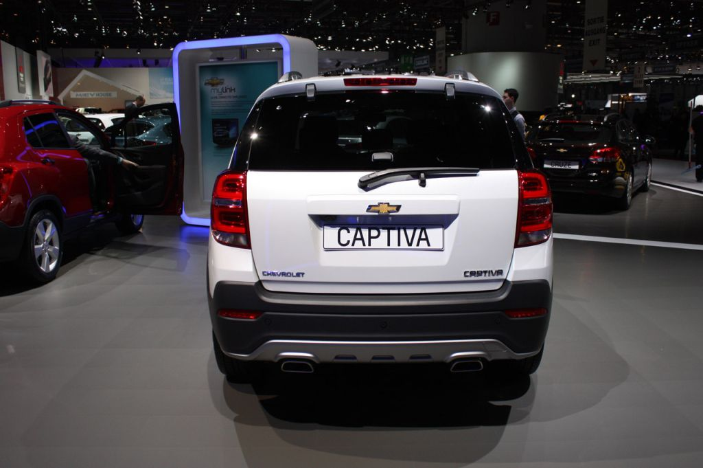 GM Gives Chevrolet Captiva A Facelift
