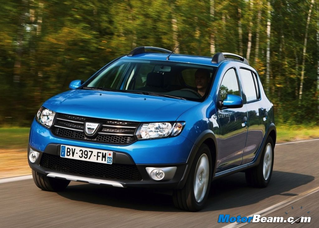 2013 Dacia Sandero Stepway India