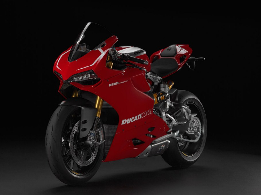 2013 Ducati 1199 Panigale R Front