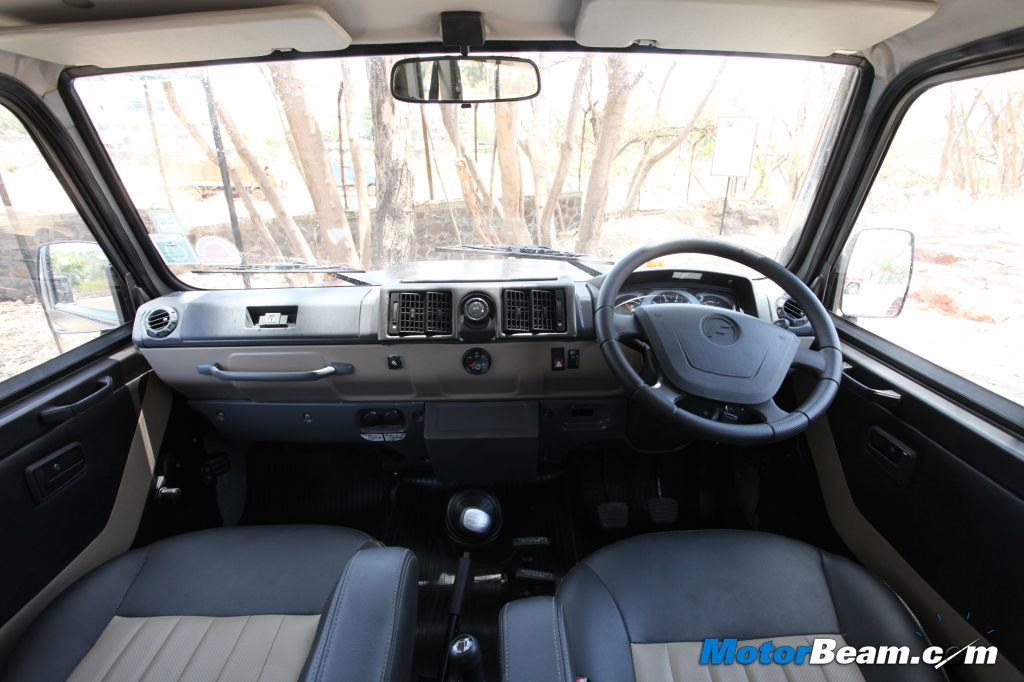 2013 Force Gurkha Dashboard