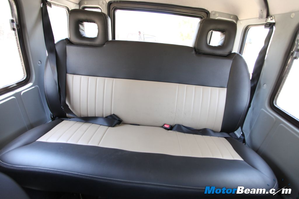 2013 Force Gurkha Rear Seat