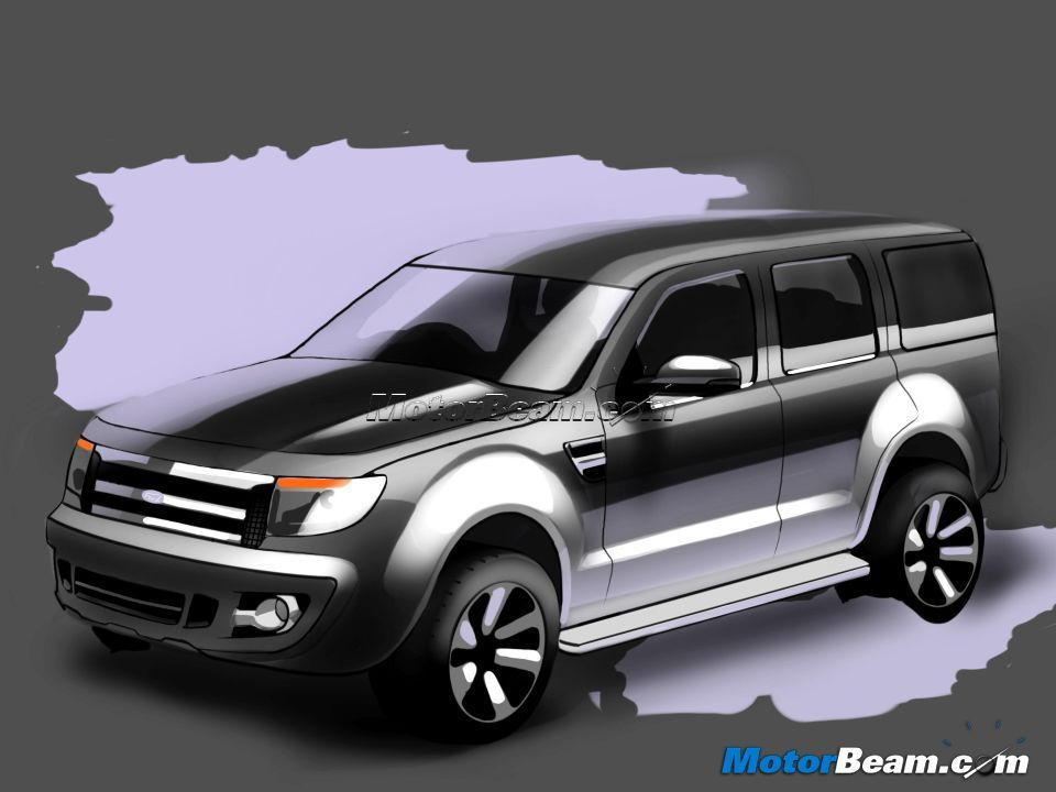All New Ford Endeavour 2013