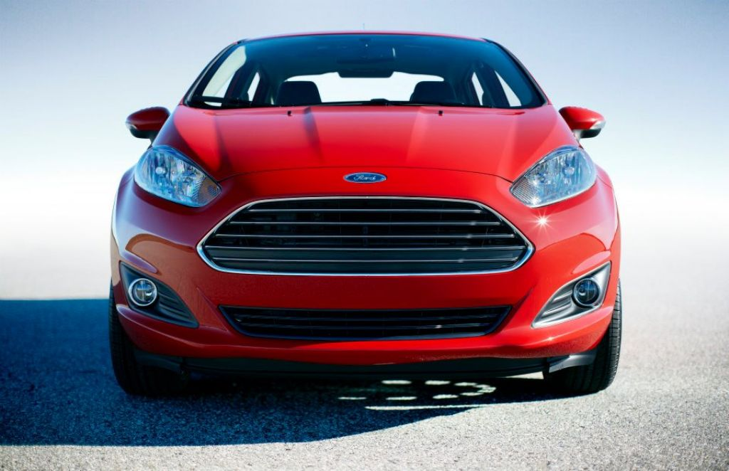 2013 Ford Fiesta Sedan Facelift