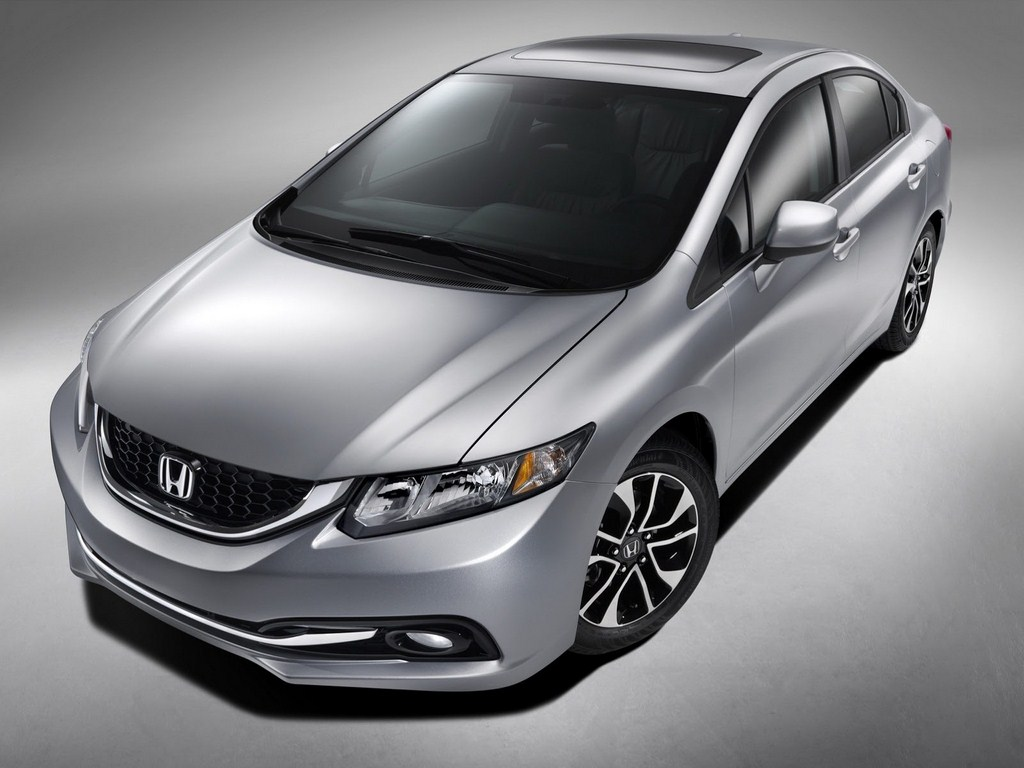 2013 Honda Civic Front