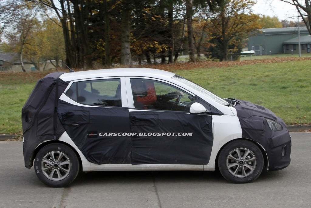 2013 Hyundai i10 side