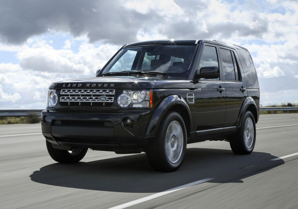 2013 Land Rover Discovery Front