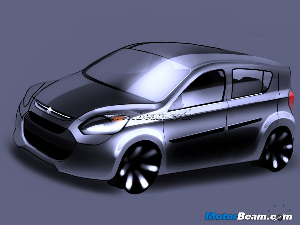 2013 Maruti Suzuki Alto Replacement Rendered | MotorBeam - Indian Car ...