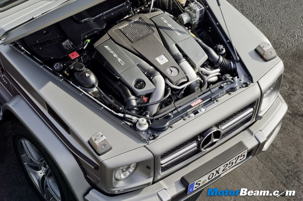 2013 Mercedes G63 AMG Engine