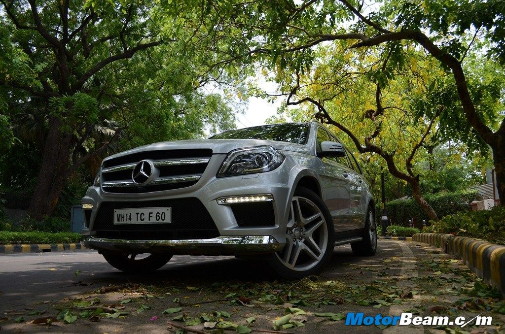 2013 Mercedes GL 350 CDI Front View