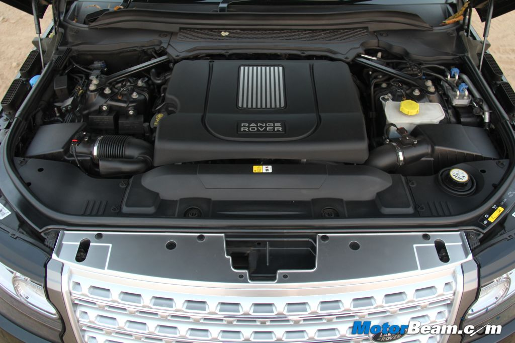 2013 Range Rover Engine