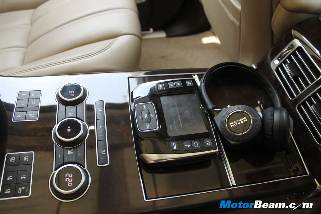 2013 Range Rover Executive Class Seating