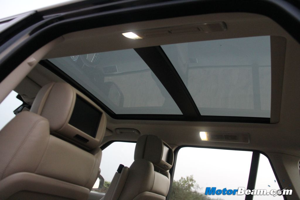 2013 Range Rover Sunroof