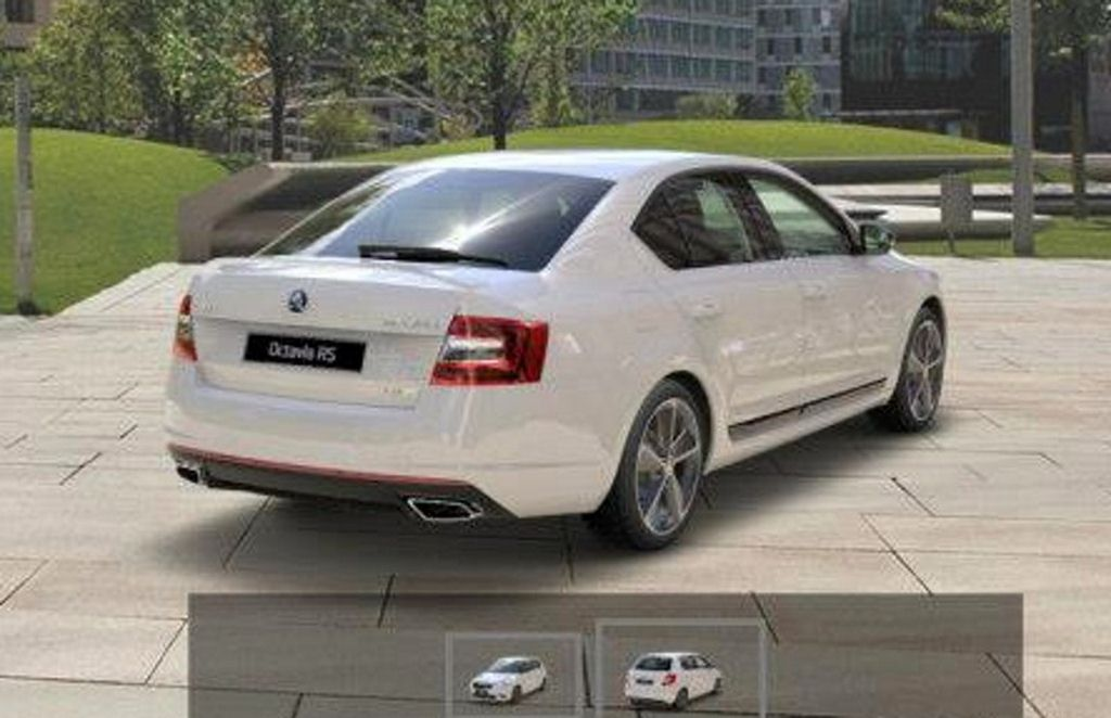 2013 Skoda Octavia RS rear