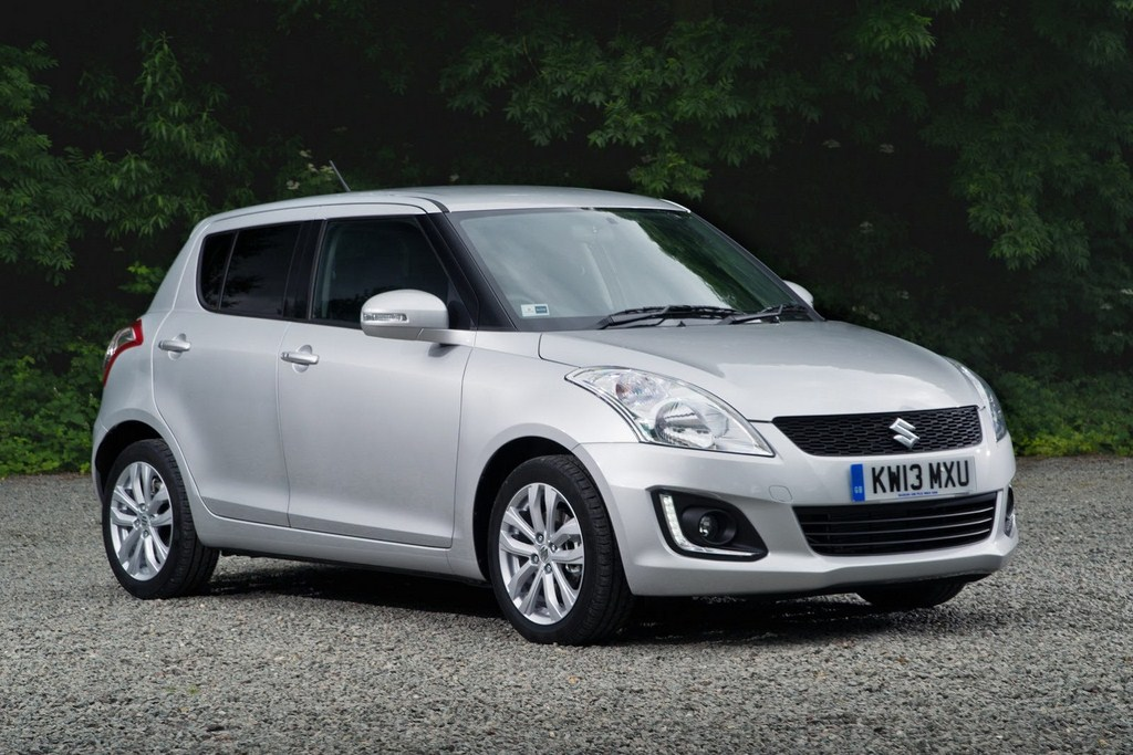 2013 Suzuki Swift Update Front