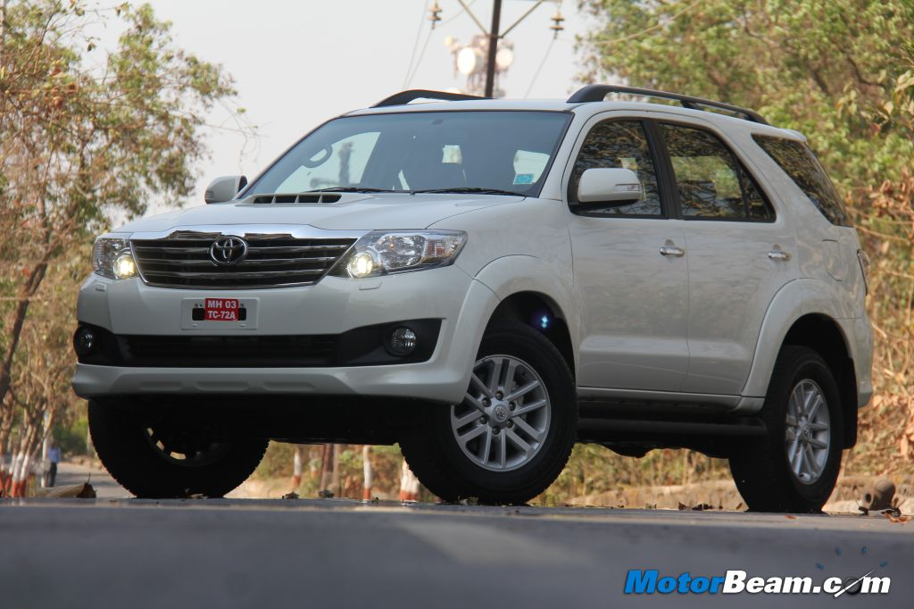 2013 Toyota Fortuner Test Drive Review