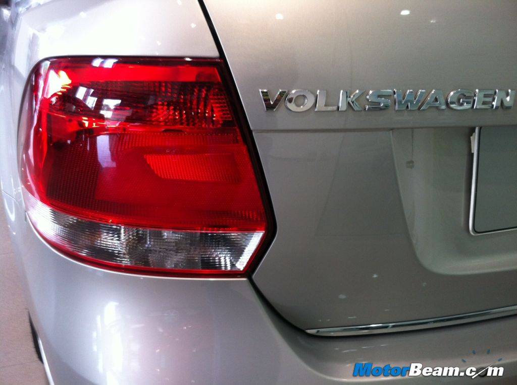 2013 Volkswagen Vento Tail Lights