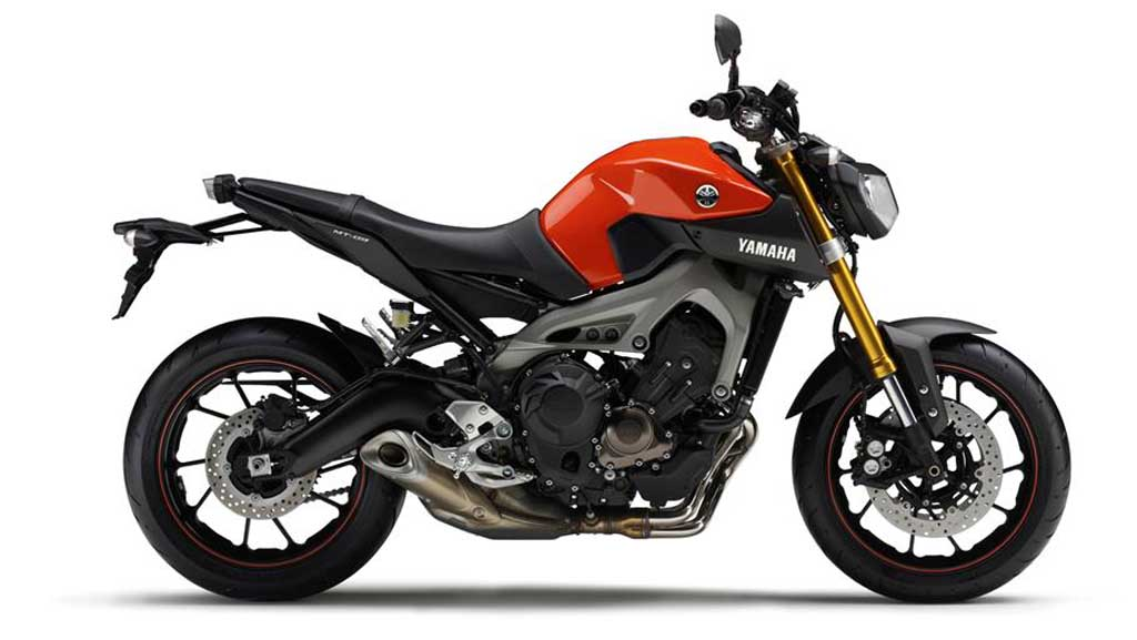 2013 Yamaha MT-09 Blazing-Orange