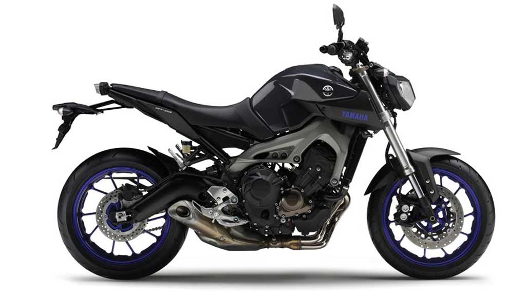 2013 Yamaha MT-09 Race Blu
