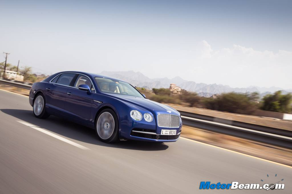 2014 Bentley Flying Spur Road Test