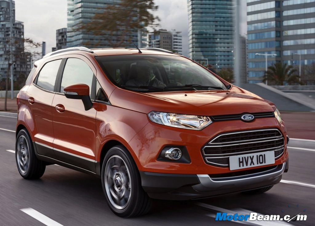 2014 Ford EcoSport Drive