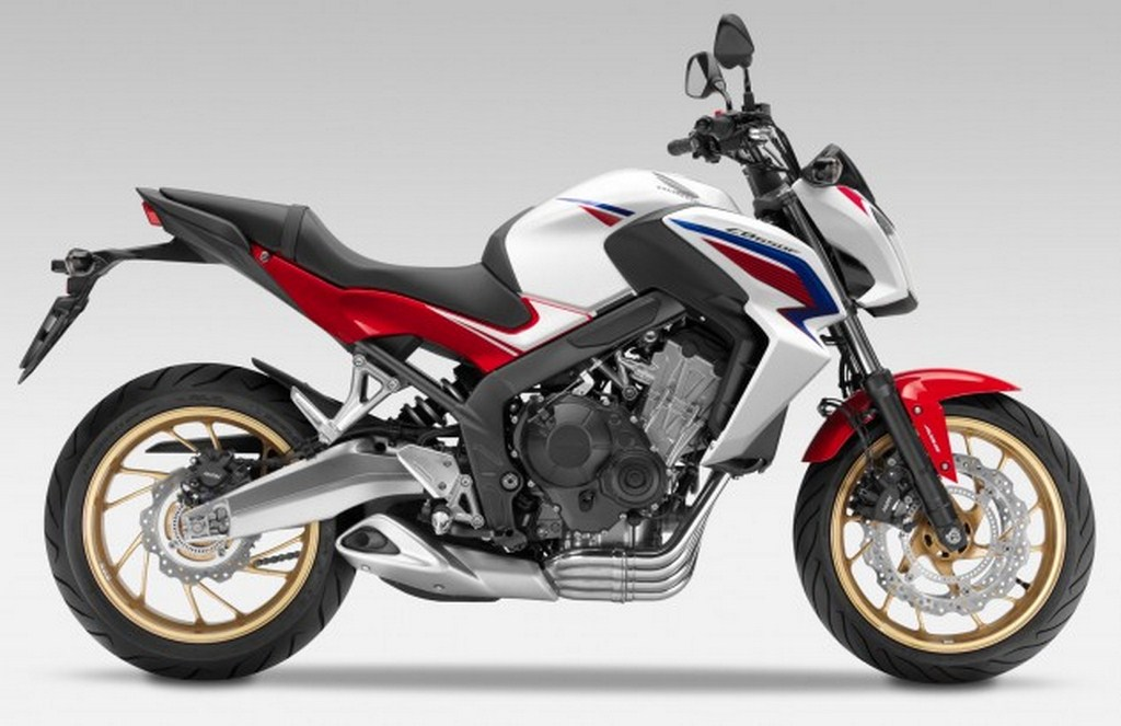 2014 Honda CB650F Side