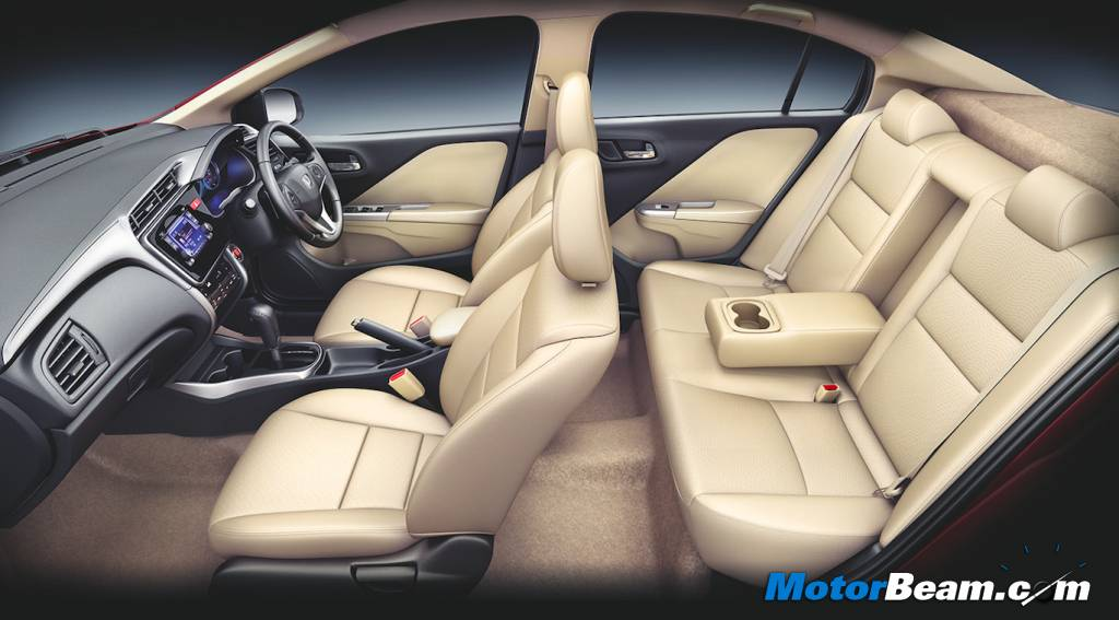 2014 Honda City Interior Cut Out